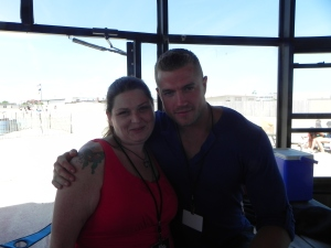 Me with the beautiful cover model Bryan Benisvy