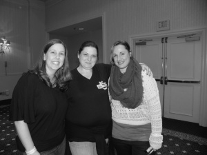 Laura Kaye, Jennifer Armentrout and I @ JR Ward Q&A